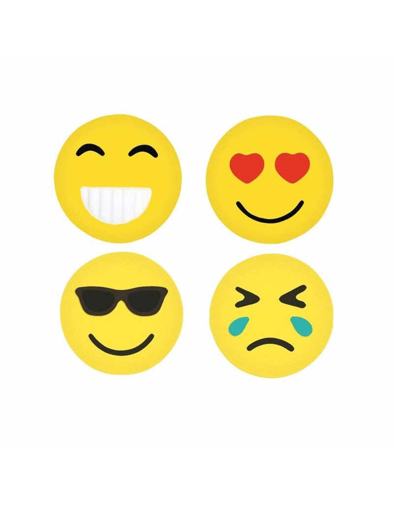 Gommetjes emoji rond set