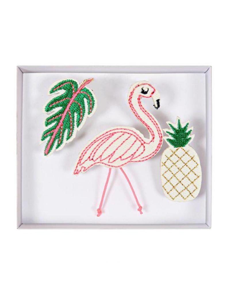 Broches flamingo
