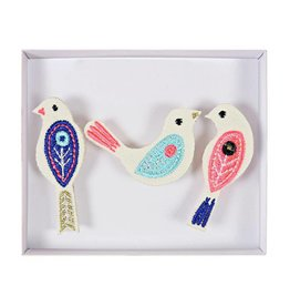 Broches vogel