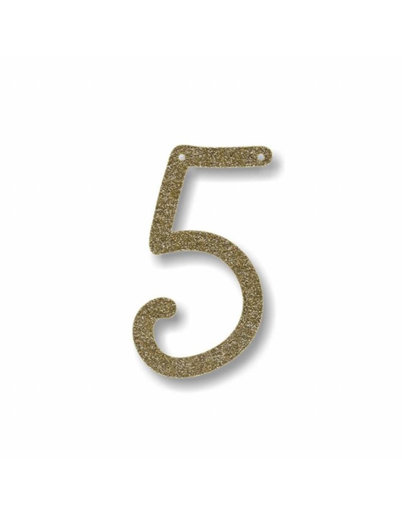 Gouden letter 5