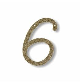 Gouden letter 6