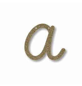 Gouden letter A