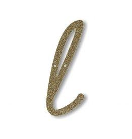 Gouden letter L