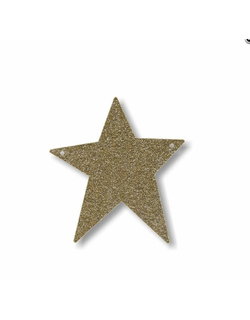 Gouden letter ster