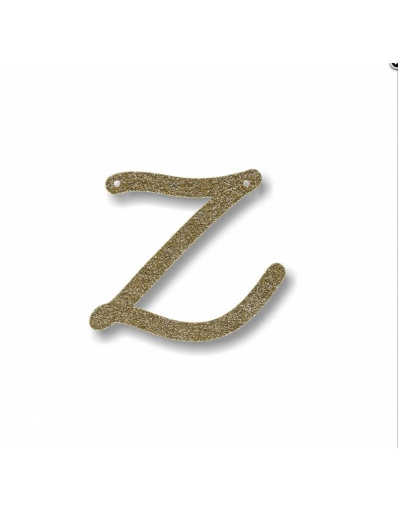 Gouden letter Z