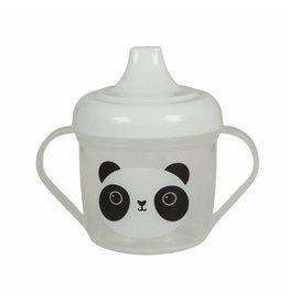 Drinkbeker met tuit panda