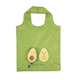 Opvouwbaar zakje avocado