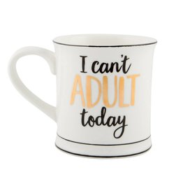 Tas goudfolie I can't adult today