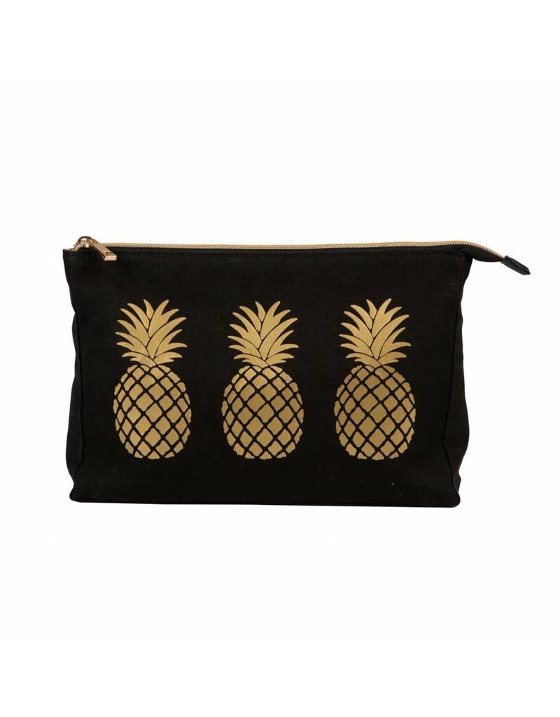 Toiletzak ananas goud