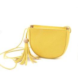 Handtasje geel