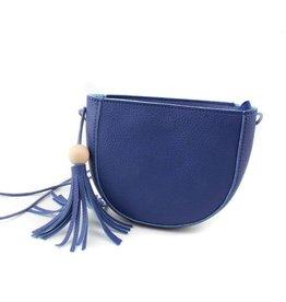 Handtasje kobaltblauw