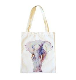 Shopper canvas olifant
