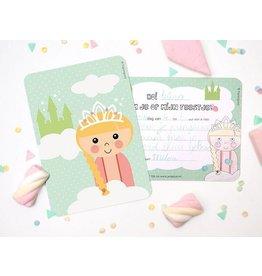 Uitnodigingen prinses