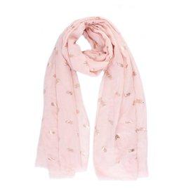 Sjaal ananas roze