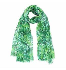 Sjaal palmbladeren