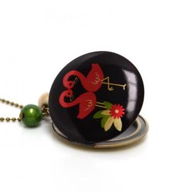 Locket flamingo