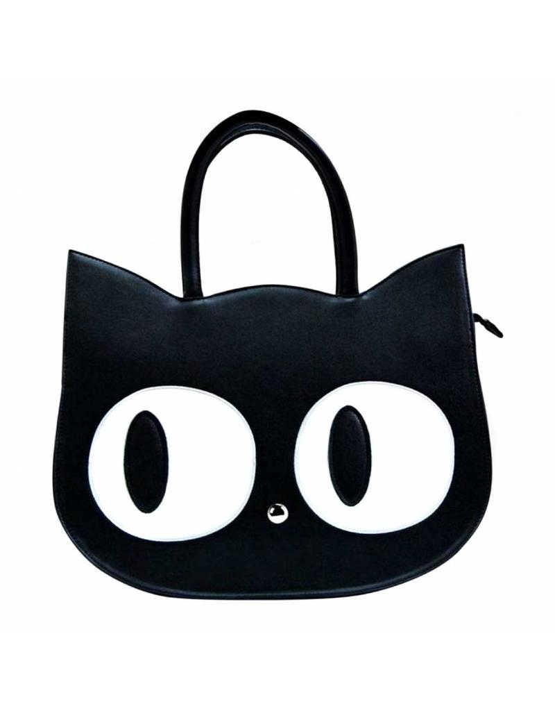 Handtas kat groot