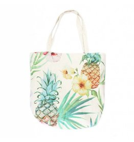 Shopper canvas ananas