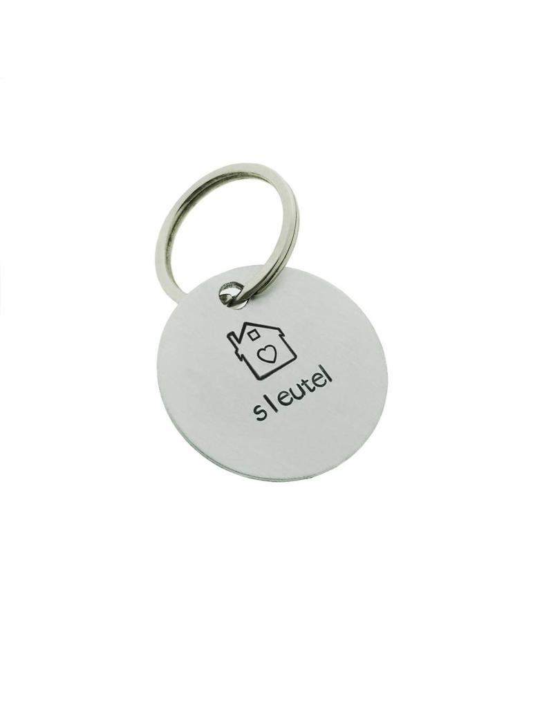 ALU sleutelhanger 31mm