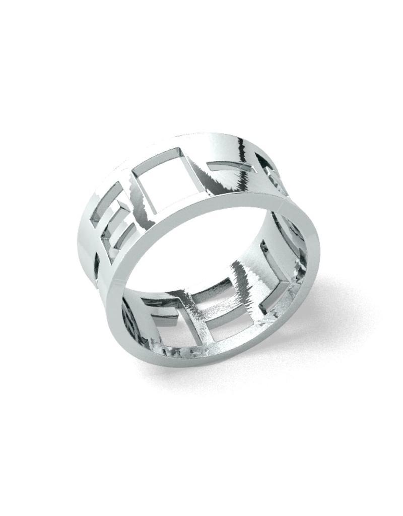Suuz Bold ring 925 zilver