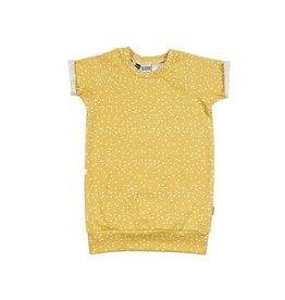 Kleine Baasjes Gold Dots Dress