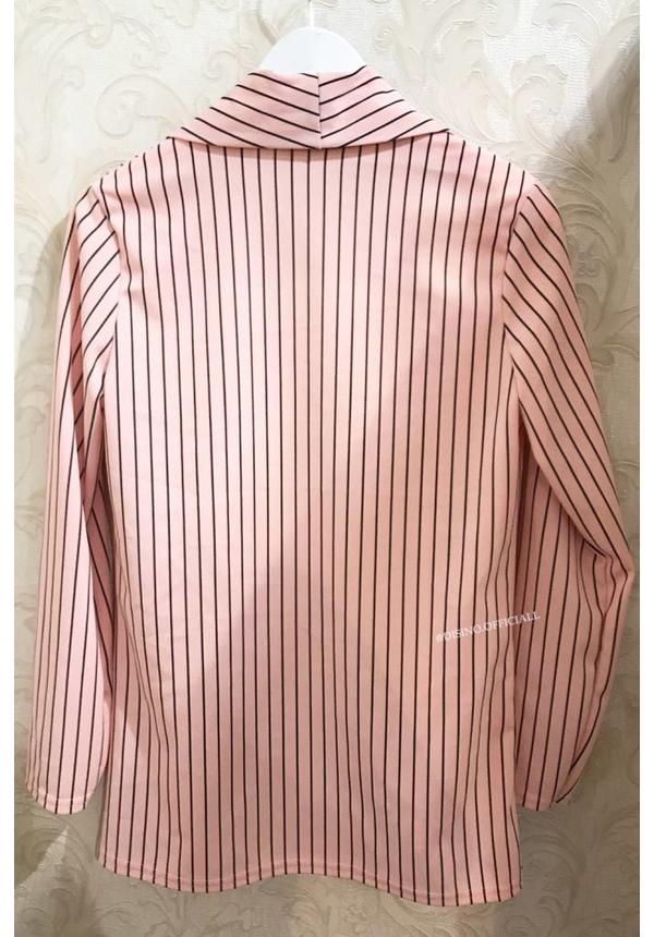 PINK - 'DANIA' - STRIPED BLAZER