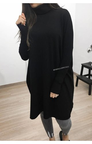 COMFY OVERSIZED COL DRESS