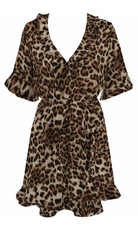 'ALICE' - LEOPARD DRESS