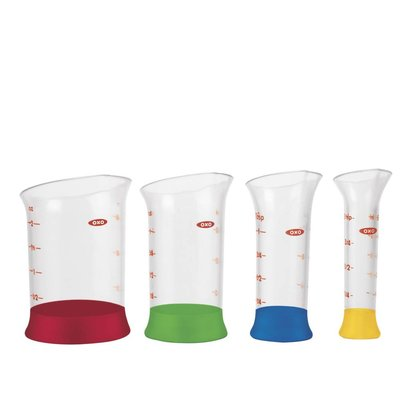 OXO Good Grips Mini-maatbekers - set a 4 stuks