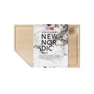 New Nordic Snijplank met Geul 31x20x4 cm