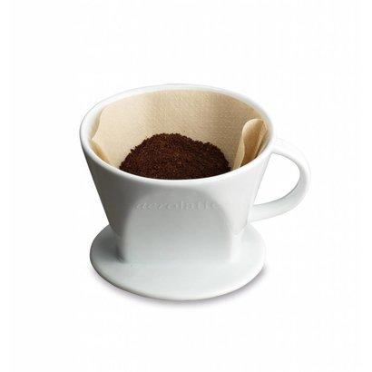 Aerolatte Koffiefilterhouder Nr. 2 Wit Porselein