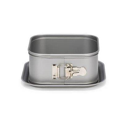 Patisse Silver Top Springvorm Vierkant Hoge Rand 18 cm