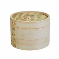 Ibili Stoommandje Bamboe 2-laags 20 cm