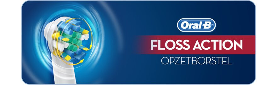 Oral-B FlossAction Opzetborstels