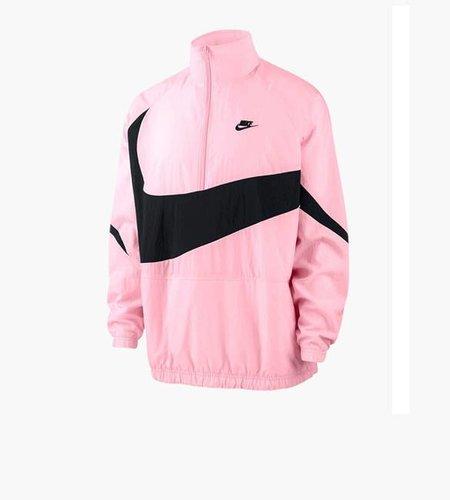 Nike Nike NSW VW Swoosh Woven Half Zip Jacket Pink Black