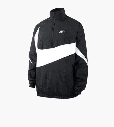 Nike Nike M NSW VW Swoosh Woven Half Zip Jacket Black