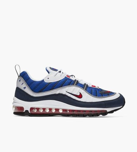 Nike Nike Air Max 98 White Obsidian University Red