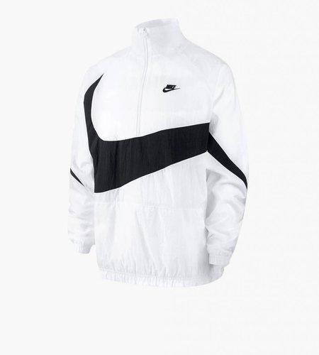 Nike Nike M NSW VW Swoosh Woven Half Zip Jacket White