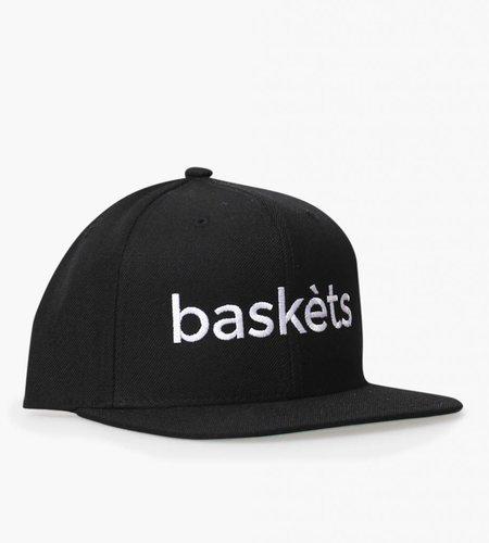 Baskèts Baskèts Snapback Cap Black White