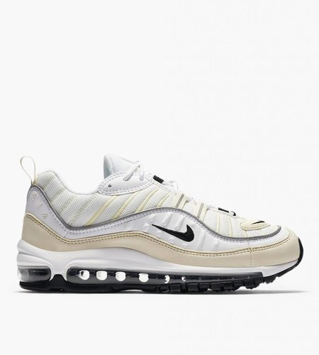 Nike Nike Air Max 98 White Black Fossil Reflect Silver
