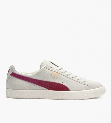 PUMA Puma Clyde From The Archive Vaporous Gray Red