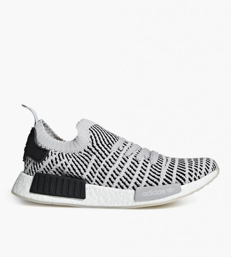 Adidas Adidas NMD R1 PK Primeknit STLT Stealth Pack Light Grey Black White