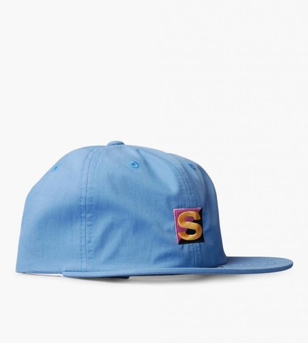 Stussy Stussy Cotton Nylon Strapback Cap Light Blue