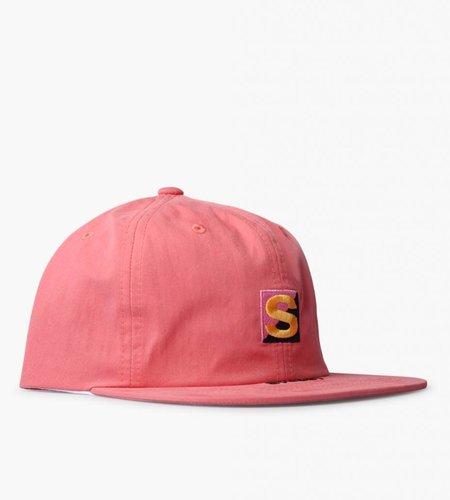 Stussy Stussy Cotton Nylon Strapback Cap Peach