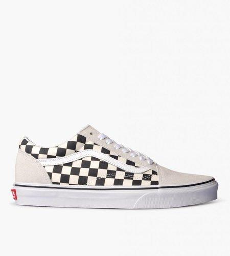 Vans Vans Ua Old Skool Checkerboard White Black