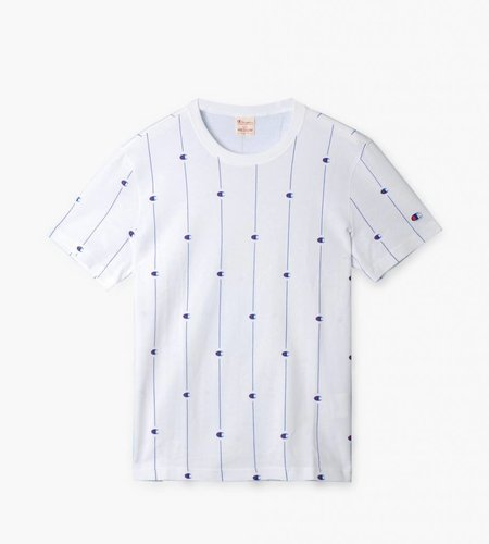 Champion Champion Crewneck T-shirt White All Over Print