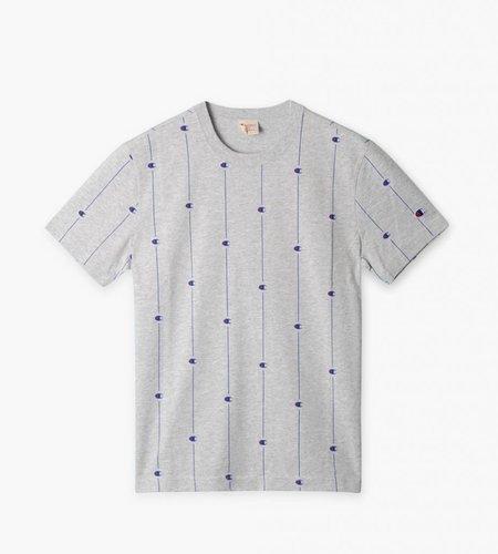 Champion Champion Crewneck T-shirt Grey All Over Print