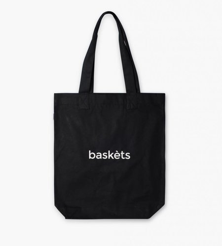 Baskèts Baskèts Heavy Canvas Tote Bag Black