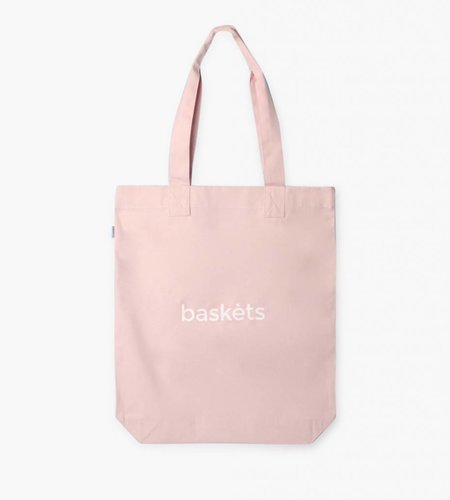 Baskèts Baskèts Heavy Canvas Tote Bag Pale Pink