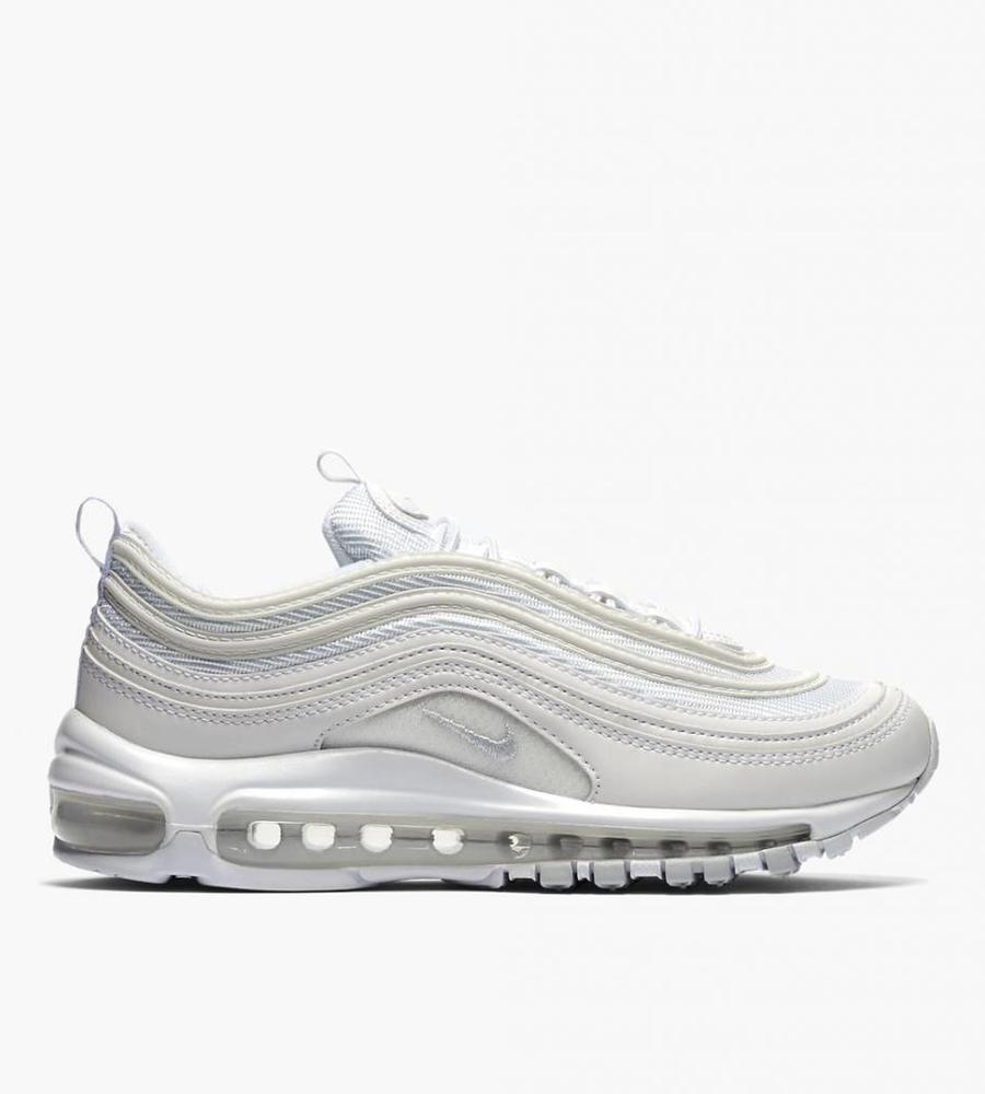quite nice aea43 b0426 ... Nike W Air Max 97 White White Pure Platinum Blanc Platine Pur Blanc -  Baskèts Stores ...